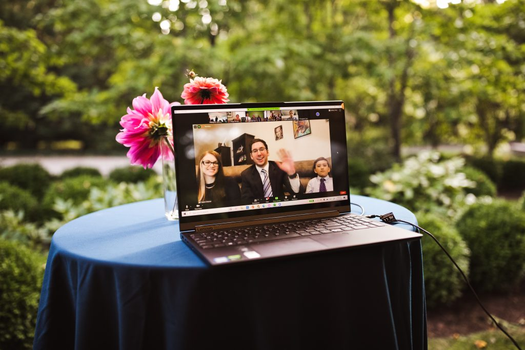 Hiring a virtual wedding service ensures your virtual guests will be well taken care of.