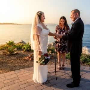destination wedding with fallback virtual guests